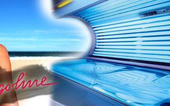 Potřebujete před sezónou lehké opálení? Tak jste narazili na správnou nabídku! 10 minut solária Ergoline Turbo 400 za neuvěřitelných 48 Kč - nejlevnější opálení na trhu!