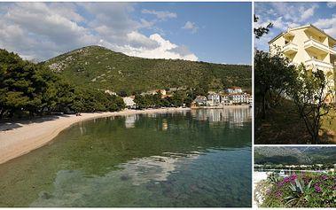 Chorvatsko - Drvenik - Makarská riviéra za pouhých 4.550 Kč za 7 nocí ve Vile Sport ležící 50 m od pláže, včetně dopravy, pobytové taxy a služeb delegáta! Vybírejte z několika termínů!!