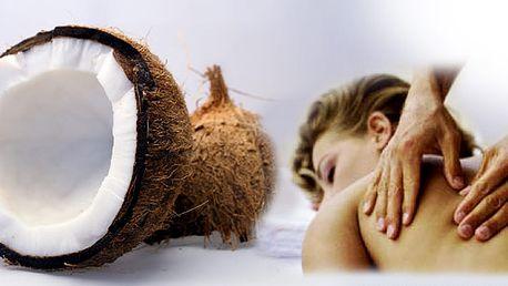 Dopřejte si exotické osvěžení Vašeho těla s příjemnou vůní kokosu! Kokosová masáž a skvělý peeling je tím pravým odpočinkem pro Vaše tělo i mysl!
