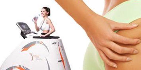 Len 12 € za dve 30 - minútové cvičenia na prístroji VACUPOWER + 30 minútové cvičenie na prístroji ROLLETIC. Skončite s tukmi v problémových partiách a ukončite boj s celulitídou. Spoznajte novú metódu modelácie postavy sama alebo príďte spolu s kamarátkou