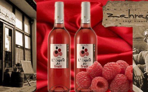 189 Kč za 2 lahve kvalitního francouzského vína Rosé L´Esprit du Fruit 2010. Ideální občerstvení pro horké letní večery s 52% slevou.