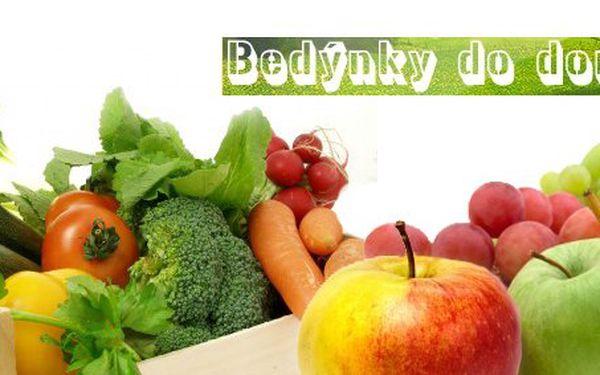 179 Kč za bedýnku čerstvého ovoce a zeleniny v původní hodnotě 369 Kč. Bedýnky od moravských farmářů s dopravou zdarma. Sleva 51 %.