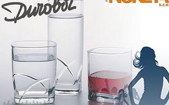 Sada 6ks elegantních koktejlových sklenic Hi-fi 39cl. Jedinečná příležitost 52% sleva na barové sklo DUROBOR.
