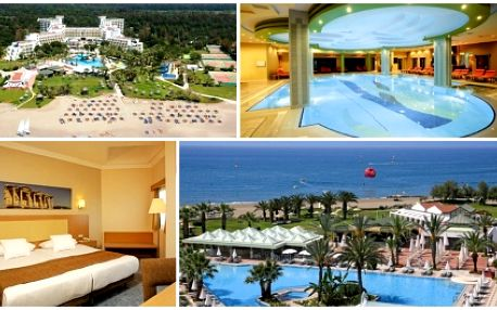 Zažijte luxusní dovolenou ve slunném tureckém Beleku, jedné z nejatraktivnějších tureckých destinací s CK Mykeny Travel! Pouze nyní sleva ve výši 5000 Kč na zájezd do 5*hotelu Barcelo TAT Golf & Beach Resortu.