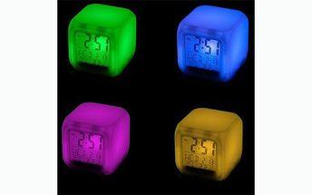 Udělejte si radost svítícím led diodovým budíkem chameleon se slevou 40%!!