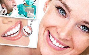 Krásný a zdravý úsměv sluší každému! Oslňte okolí zářivě bílými zuby. Bělení zubů pro váš neodolatelný úsměv se slevou 73 %.