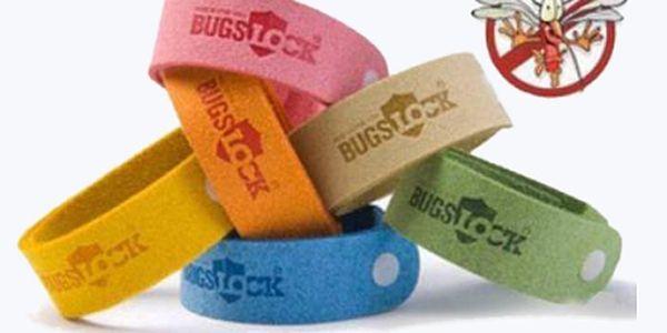 Bugs Lock (5ks) ochrání nejen Vás, ale hlavně Vaše děti před nepříjemným a nebezpečným hmyzem. Buďte styloví a navíc se zbavte komárů a ochraňte své zdraví.