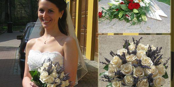 Svatební květinový set za pouhých 1908 Kč z původních 3180 Kč