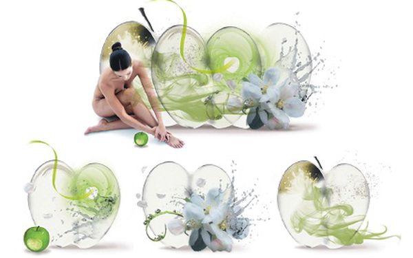 675 Kč za detoxikaci těla s výtažky a vůní zeleného jablka či maracuji