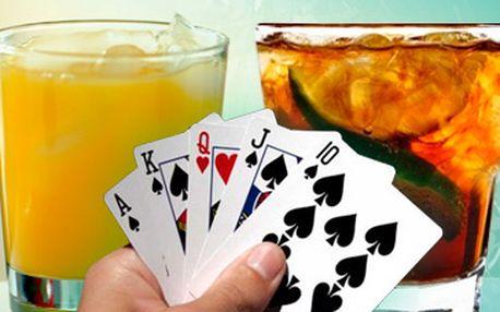 Skvělých 37 kaček za 2x nápoj dle výběru: rum + kola, vodka + džus. Součástí slevového kupónu možnost využít pronájem pokrového stolu ZDARMA. Přijďte se pobavit do nově otevřeného pivního baru Černý Kohout ve středu města. Sleva 50%
