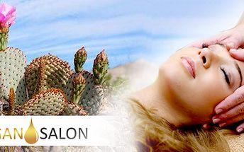 Dopřejte svému obličeji a dekoltu 100% přírodní lifting. OPUNCIOVÉ OMLAZENÍ OBLIČEJE A DEKOLTU Vám navrátí pružnost a pevnost Vaší pokožky.