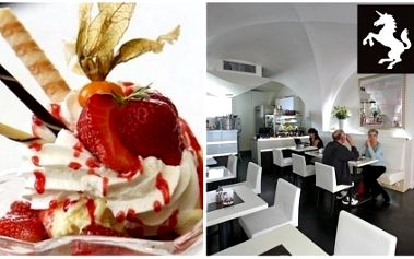 Zajděte si za pouhých 120 Kč na 2 luxusní zmrzlinové poháry dle vlastního výběru do vyhlášené a moderní kavárny na Praze 1 - Bílý koníček! Zahřešte si ve velkém stylu nyní s úžasnou 56% slevou!!