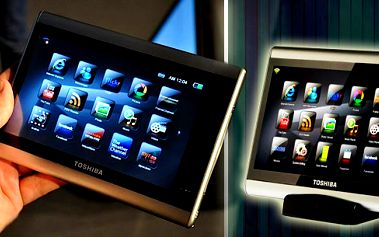 Držte krok s dobou. Perfektní kompromis mezi mobilním telefonem a notebookem. To je nový Tablet Toshiba JournE touch! Internet, sociální sítě, fotografie, hudba a jiné aplikace!