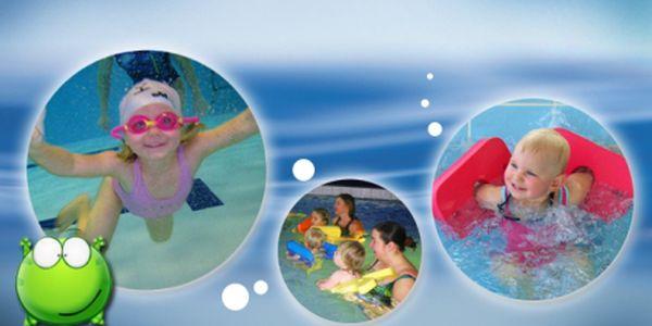 Intenzivní letní kurz plavání rodičů s dětmi se slevou 35%! Za pět lekcí zaplatíte pouze 780 Kč! Nikdy není dost brzy naučit se něco nového!