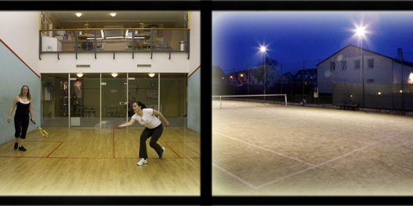 Jen 99 Kč za hodinu squashe nebo tenisu se zapůjčením raket a míčku v příjemném prostředí sportovního centra Horoměřice!