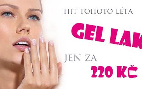 Vyzkoušejte GEL LAK včetně manikúry za skvělou cenu 220,- Kč. Konec oprýskaného laku - krásné nehty během chvilky.