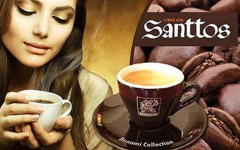 Talianske espresso v SANTTOS caffe bar len za 0,52€. Omamná vôňa a fajnová chuť milánskej kávy BONOMI s hustou penou ulahodí Vašim zmyslom so zľavou 48%.