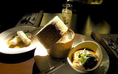 Jen 229 Kč za exkluzivní menu s exotickou vůní se 41% primaslevou! Poznejte jedinečnou chuť Thajska!