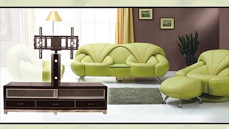 Zařizujete byt? A máte už stolek pod televizi? Nabízíme vám devět různých elegantních stolků až s 85% slevou za skvělých 1450 korun včetně montáže!