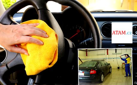 Ruční mytí vašeho vozu s 50% slevou: Jen 349 Kč za KOMPLETNÍ vyčištění exteriéru i interiéru vašeho auta luxusní autokosmetikou! Možné využít ke všem typům osobních vozů!