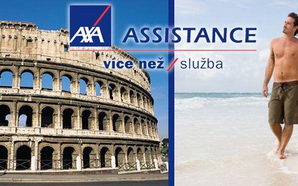 149 Kč za 15 dní cestovního pojištění AXA ASSISTANCE! Prázdniny v klidu a LIBOVOLNÝ POČET pojištěných osob i dní se slevou 65 %.