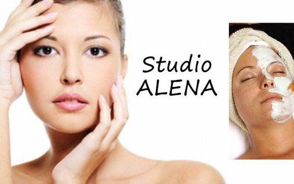Pouze 199 Kč za kompletní kosmetické ošetření pleti, úpravu obočí, peeling, relaxační masáž obličeje a dekoltu s vyživující maskou + BONUS masáž rukou nebo chodidel. Nechte se hýčkat ve studiu ALENA s 60% slevou.