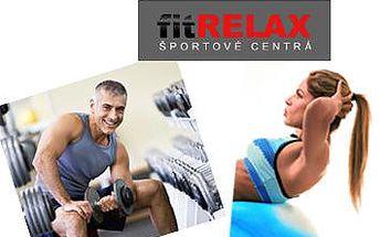 Pripravte svoje telo na leto ! Ďalšia skvelá PrimaZľava na ROČNÚ permanentku do známych fitness centier fitRELAX v Bratislave. Kreditná permanentka v hodnote 33,35 € teraz len za 14 € ! Fitness, Aerobic, Squash, Sauna....