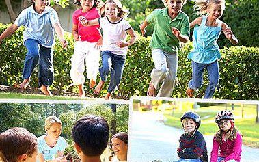 Dejte dětem dárek za vysvědčení s 50% slevou. Překvapte své dítě příjemným letním dárkem a dopřejte jim nové zážitky na sportovním příměstském táboře.