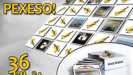 Nechte si vyrobit pexeso z vlastních fotografií s 55% slevou. Obdarujte vaše blízké originálním dárkem, díky kterému si připomenou krásné chvíle i užijí spoustu zábavy. Jen dnes za 130 Kč!