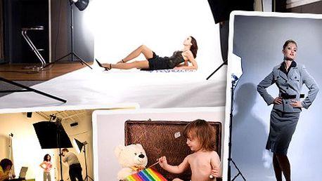 Buďte jako celebrita! Zapózujte a nechejte se vyfotit v profesionálním fotoateliéru. Sada fotografií pro Vás nebo jako originální dárek se slevou 50 %.
