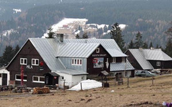 5 dní Báječné rodinné dovolené v sezóně 2011/2012 v Krakonošově království na Horské boudě Míla v Peci pod Sněžkou.