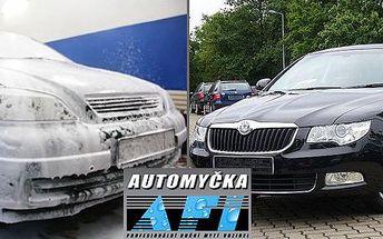 495 Kč za RUČNÍ mytí a mnoho dalších služeb pro váš automobil. Profesionální péče v automyčce AFI s 50% slevou.