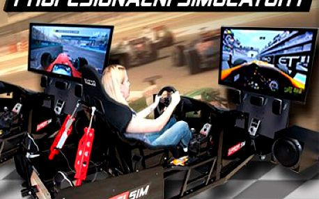 199 Kč za 30 minut jízdy na profesionálním pohyblivém simulátoru. Zažijte adrenalinový zážitek - driftování, smyky, karamboly a spoustu dalšího. Simulátory jsou propojeny v síti, závoďte s přáteli s 51% slevou!