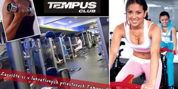 Vstup do fitness Tempus Club s iontovým nápojom podľa vlastného výberu iba za 2,20 €