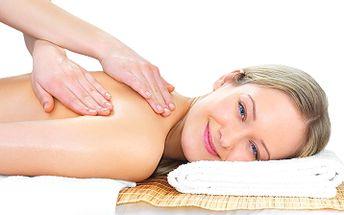190 Kč za uvolňující relaxační masáž zad a šíje 45 min. v hodnotě 295 Kč