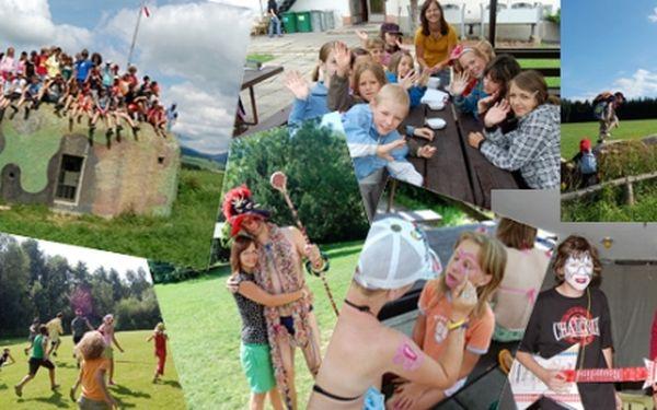 """Skvělá zábava a pestrý program pro vaše děti ... Dětský letní tábor""""HRY BEZ HRANIC"""" u Zábřehu na Moravě. 10dní, 9nocí, jídlo a pití, výlety a ceny … to vše jen za 2190 Kč … pro Vaše děti jen to nejlepší :)!!! Doplnění posledních míst."""