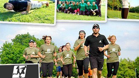 Nástup! POZOR! Vlevo hleď. Neváhej, na bootcamp se slevou 50 % jeď. Vyzkoušejte poslední novinku v oblasti fitness a wellness inspirovanou armádním výcvikem!