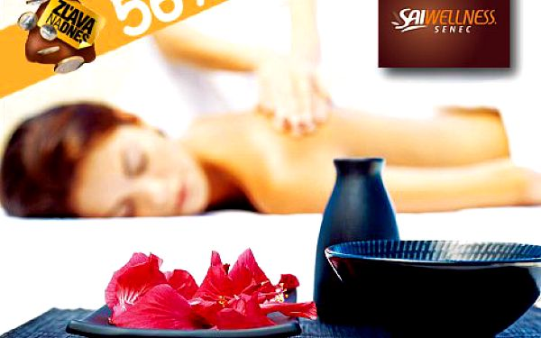 Jedinečná Sothys masáž podľa vlastného výberu v SAI WELLNESS v Senci! Doprajte si úžasnú masáž len za 29,90 eur!