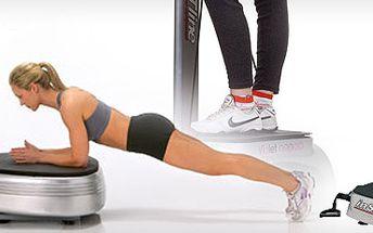 69 Kč za 30-ti minutové cvičení na vibrační plošině Vibra Plate! Zpevněte své tělo a setřeste přebytečná kila s 54% slevou. Čtvrthodina tréninku na Vibra Plate nahradí 1 hodinu v posilovně!