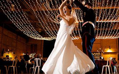Hudba na svatební oslavu - kupon na 40% slevu na balíček hudební produkce, zvuku a osvětlení od Double [age]ncy