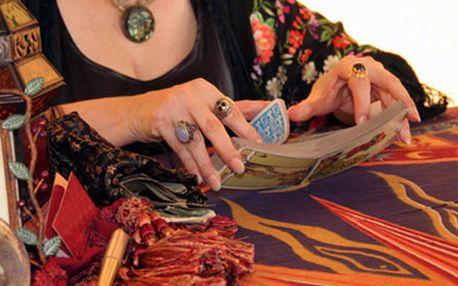 Kupón na 55% slevu výklad tarotových karet po slevě 300kč