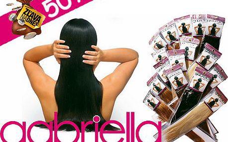 Sú dlhé vlasy aj Vašim snom? Získať ich nebolo nikdy jednoduchšie! Teraz len za 59.99 eur za sadu kvalitných 100% ľudských clip in vlasov.