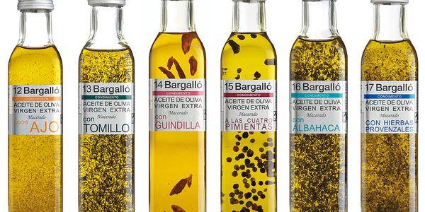 892 Kč za dárkovou sadu 6 kusů ochucených olivových olejů v hodnotě 1190 Kč