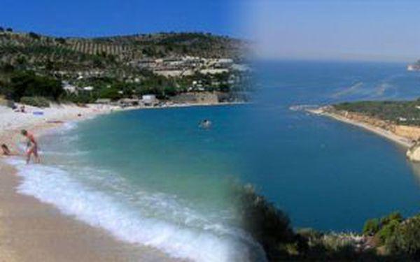 13denní dovolená v Itálii na poloostrově Gargano v ceně sdopravou apolopenzí - odjezd v červenci 2011