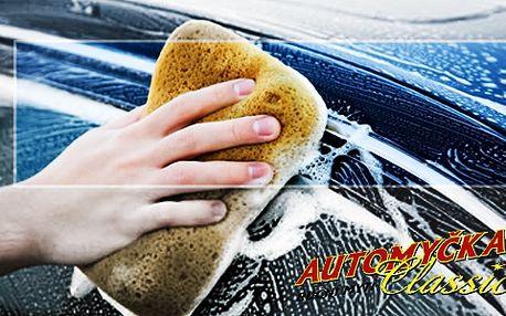 Ruční mytí vozu za super cenu v Automyčce Classic!
