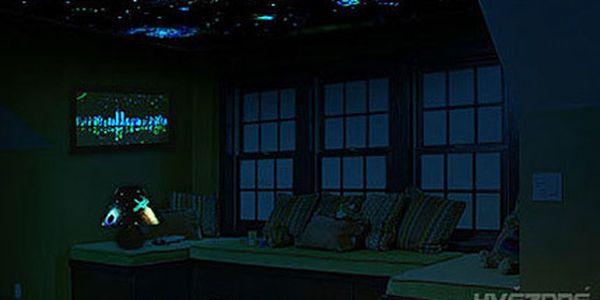 Hvězdné stropy pro děti, záruka klidného usínání!