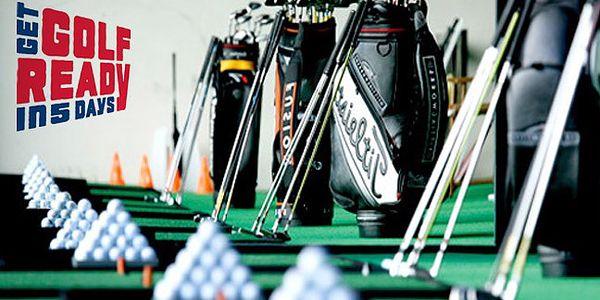 Dnešní sleva: Golfový workshop programu GET GOLF READY s trenérem PGA. Usnadněte si golf hlubokým pochopením golfové techniky a v rámci této akce navíc se slevou 54% za perfektních 299,-Kč!