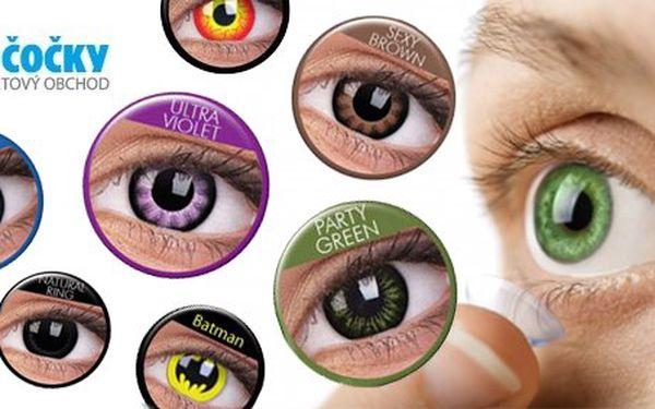 499 Kč za pár barevných nebo crazy očních čoček včetně vyšetření zraku a bezplatné instruktáže aplikace čoček. Více než 120 barevných kombinací a motivů se slevou 51 %.