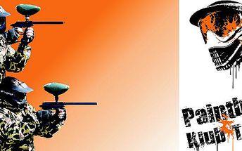Adrenalinem nabitý paintball o prázdninách jen za 215 Kč pro 1 osobu v hodnotě 400 Kč