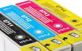 Jen 129 Kč za sadu 5ks kompatibilních náplní s označením T0715 (T0711-T0714) do tiskáren značky EPSON v internetovém obchodě BTshop.cz! Zakupte si sadu náplní epson v našem e-shopu a všechny Vaše dokumenty získají na kvalitě a Vaše fotografie a vzpomínky